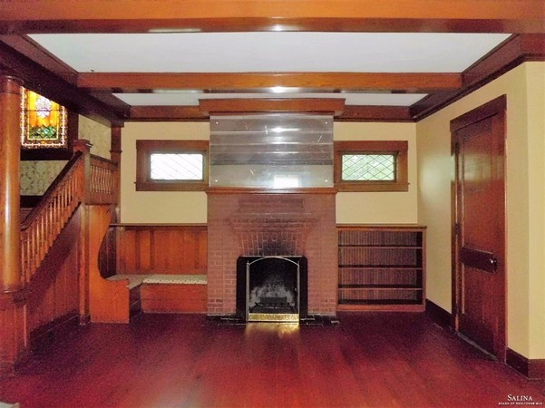 Fireplace Feature Graces Living Room