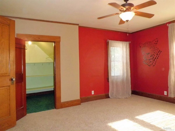 Walk-in Closets Throughout