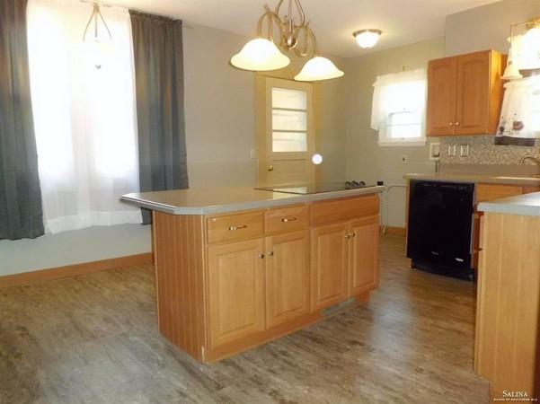Remodeled Kitchen With Solid Counters